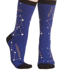 Modcloth Novelty Stellar Constellation socks